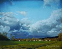 Landschaft, landschaftsbilder, moderne kunst, wandbilder, Thea Herzig