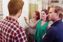 Le management visuel assure une efficacité opérationnelle réactive.