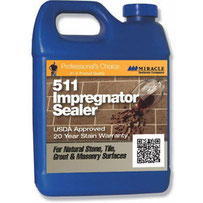 A pint of Miracle brand 511 Impregnator sealer