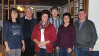 Die Vorstandschaft mit der im Amt bestätigten Vorsitzenden Angela Bielmeier.