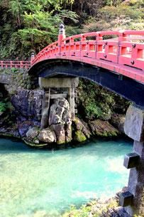 Shinkyo Brücke, Nikko, berühmte Brücke, Japan