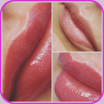 Ombrelips - Powderlips - Lippen Permanent Make Up - Micropigmentation - Make Up - Studio Pimp my Face - Hamburg Bramfeld - Stefanie Lopez - Schulungen - Weiterbildung - Einzelschulung - Kurs