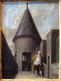 Louis XVI, prisonnier au Temple, Jean Francois Garneray 1755 1837. (Source : téléversé par World Imaging, Wikimedia)