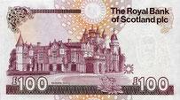Seit 1987 ist das Schloss auf der 100-Pfund-Note von der Royal Bank of Scotland abgebildet.