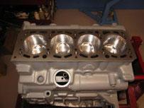 Bearbeiteter Motorblock Lancia Delta Integrale