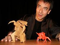 """Origami utilisés pour illustrer les contes de """"Rêves de Papier"""""""