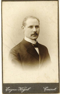 Hermann Weiler um 1912