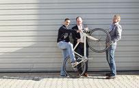 Usama Assi, Stephan Hebenstreit und Martin Trink
