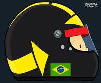 Helmet of Carlos Paceby Muneta & Cerracín