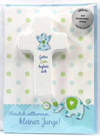 Glückwunschkarten Zur Geburt Religiöse Kreuze Und Kerzenständer Shop