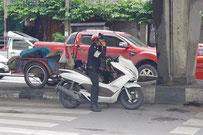 タイ王国 警察 公的機関 他 ステッカー Thailand Pokice & public institution Sticker