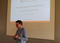 Dr. Richard Forster: Vortrag Patientenverfügung/Vorsorgevollmacht Bild: Gerhard Rüdisser