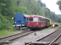 Die Schienenbusse der Waldbahn