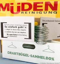 Blog: Müden Bügelsammelbox mit Müden Logo