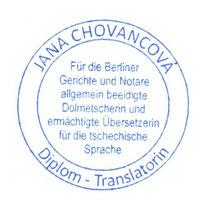deutsch tschechisch uebersetzer