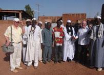 Les paroissiens du doyenné lors du voyage à Réo, en février 2014