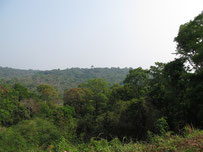 Mountain view in Phu Pan..Sakon Nakhon province eastern Thailand