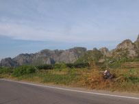 Landscape at Khao Sam Roi Yot, Prachuap Khiri Khan province, southern Thailand