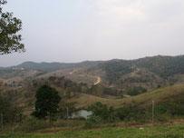 Landscape Khao Phaengma, Nakhon Ratchasima, eastern Thailand