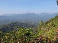 Landscape in Kaeng Krachan, Prachuab Khiri Khan province, southern Thailand