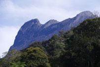 Peak of Mount Kinabala, Borneo, Sabah, Malaysia