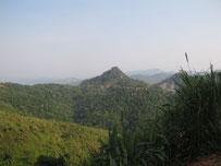 Mountains near Phou Khoun, Louang Prabang province, Laos