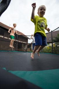 Unser heißbegehrtes Trampolin mit 4 m Durchmesser!