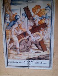 Via Crucis IX, Desierto de las Palmas