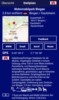 "Promobil App ""Wohnmobilpark Bingen"""