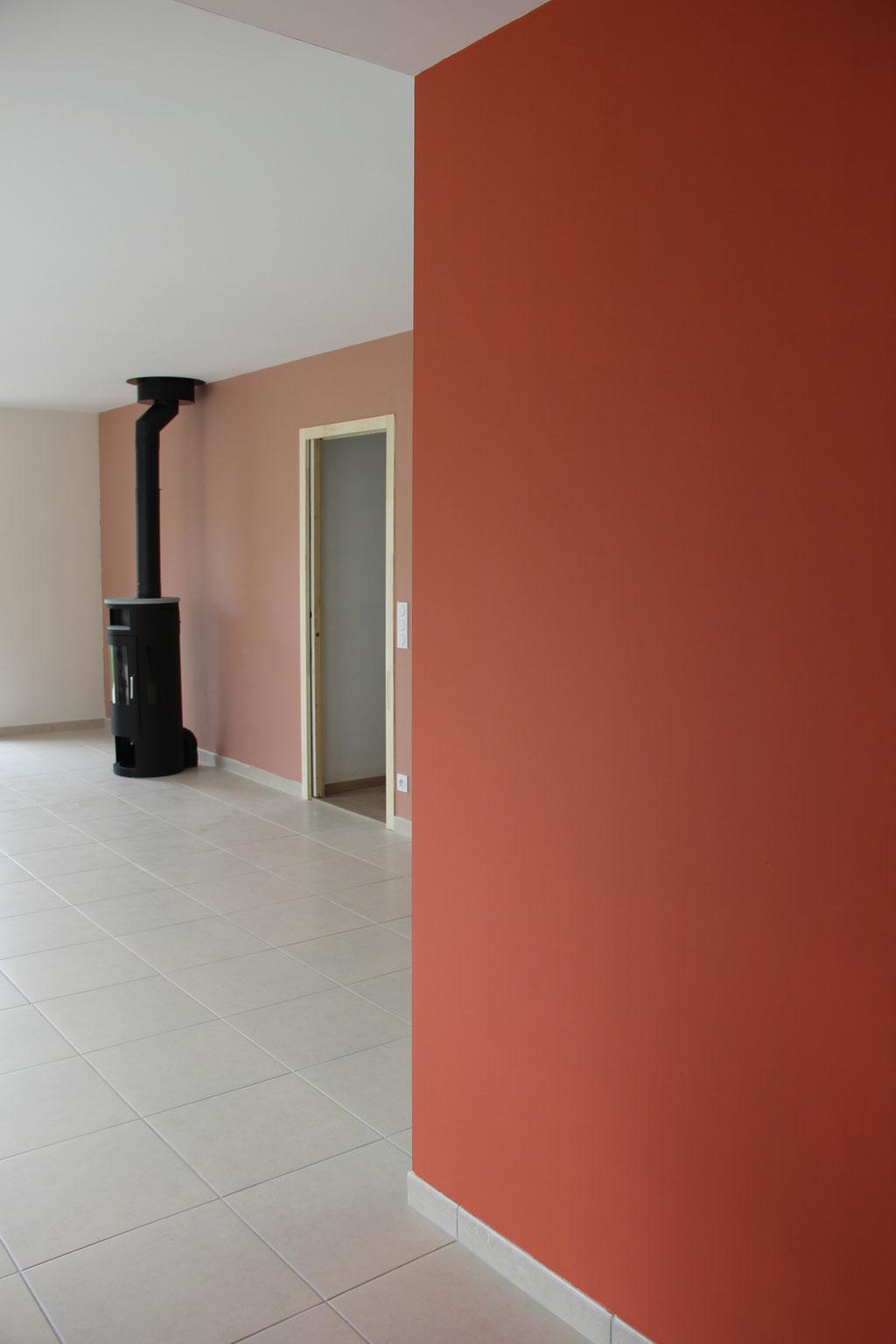 Conseil couleur et accompagnement auto-réalisation peinture - Maison Paimpol
