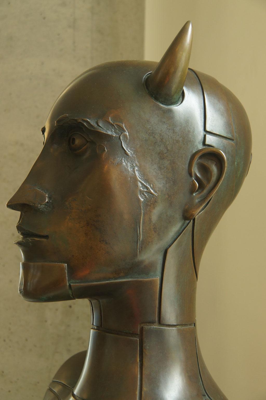 Skulptur von Paul Wunderlich - Neo-Surrealismus Dauerausstellung Eberswalde- Foto: Doreen Malinka