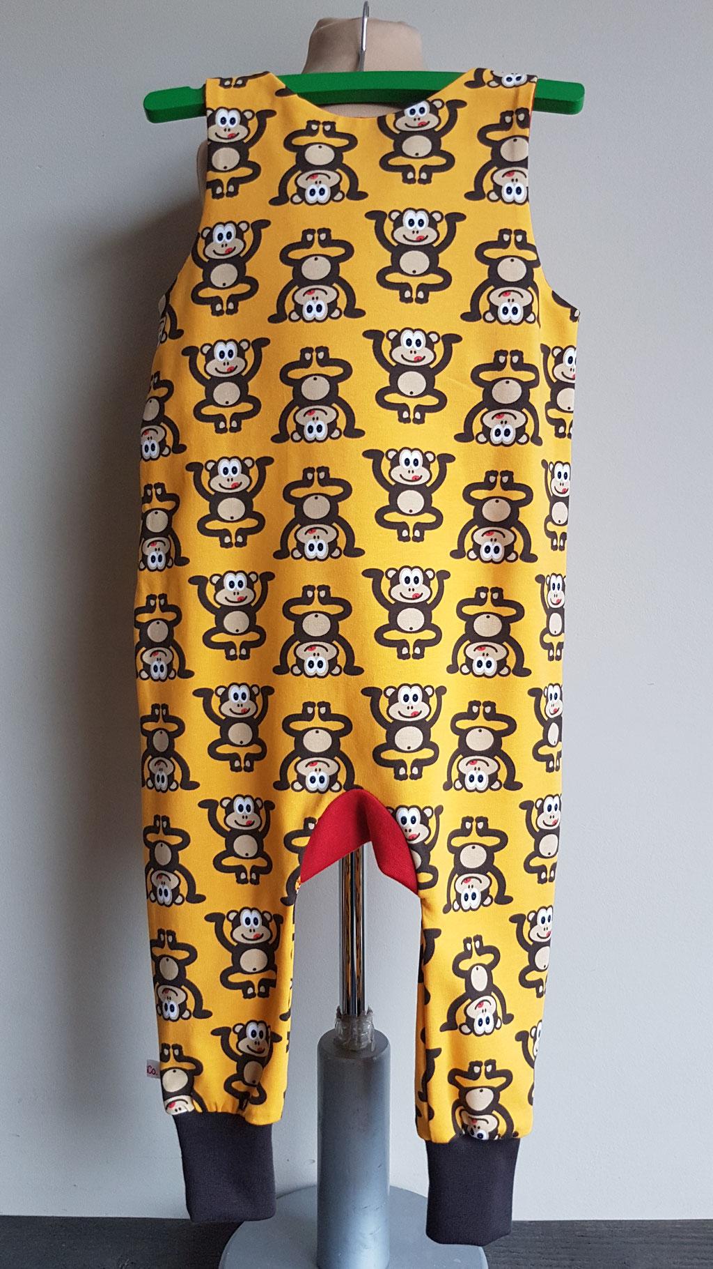 Achter: Monkey business (geel)