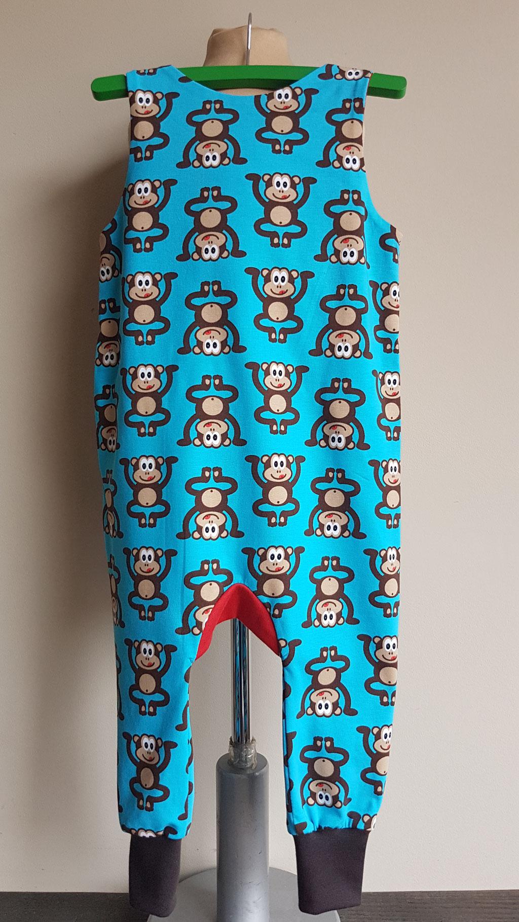 Achter: Monkey business (blauw)