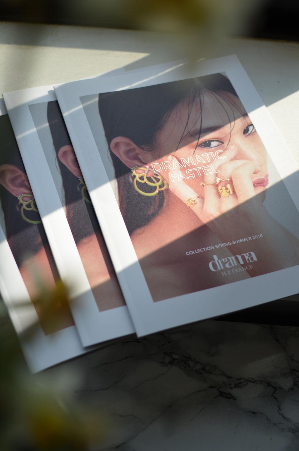 drama H.P.FRANCE 2018 SS Catalog