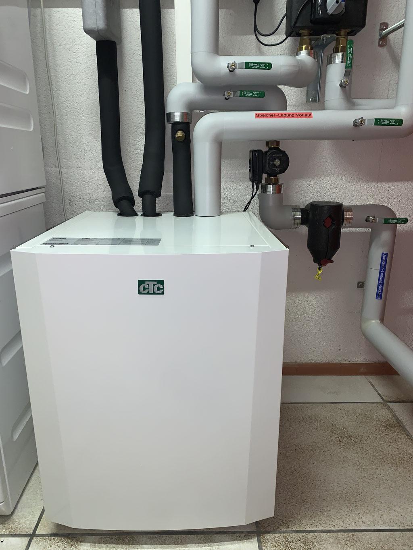 neue Sole-Wasser Wärmepumpe von CTC Giersch