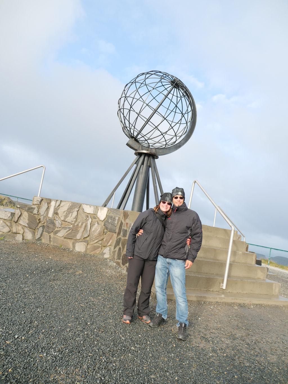 "Nordkapp team Wolf78-overland 70°10`21""N Globus Norwegen Kugel Norge #NordkappUndZurück #Driveyourownway #explorewithoutnoimits travel #borntoroam"