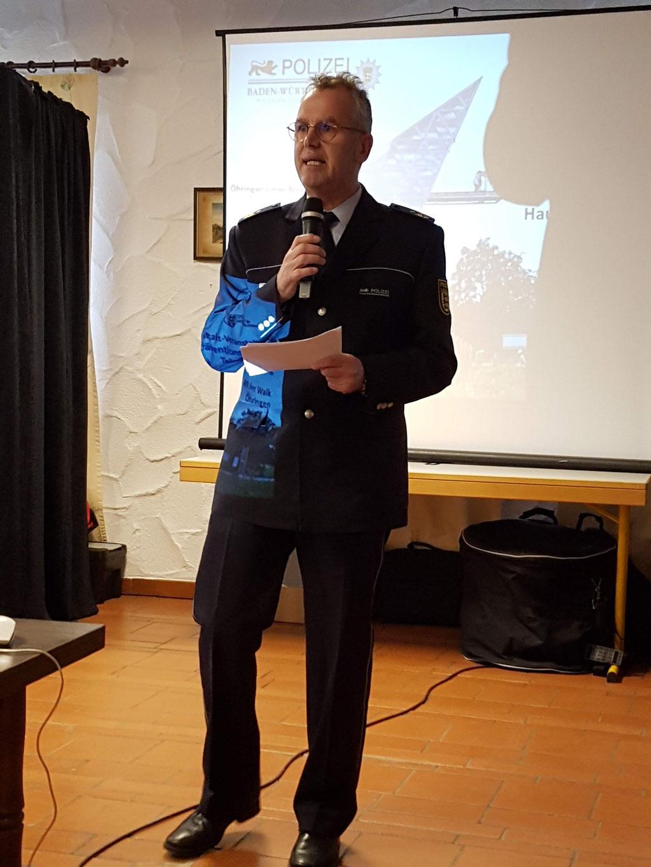 Polizeipräsident Becker