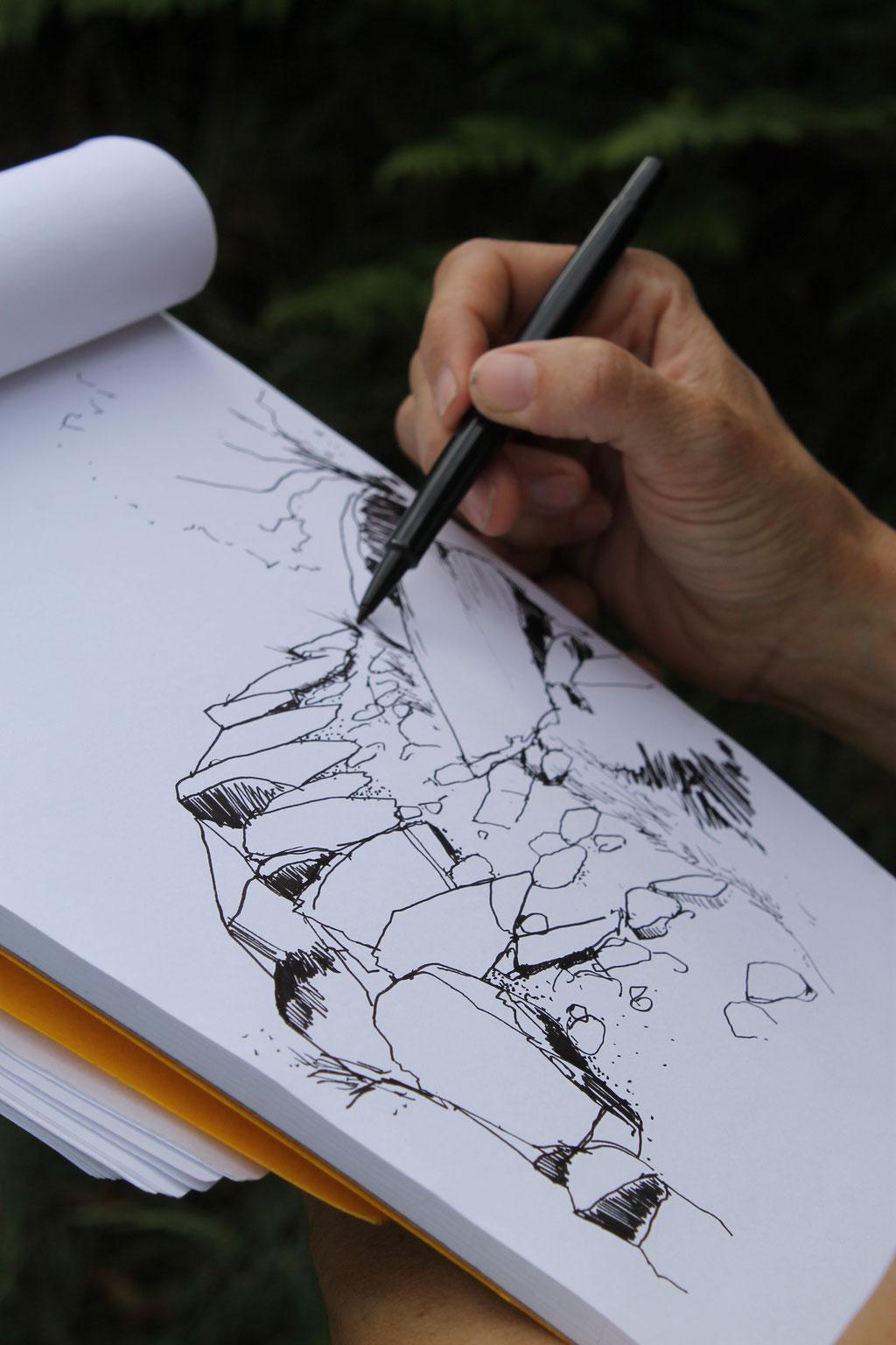 crédit photo ELIPS/dessin Far Paysage