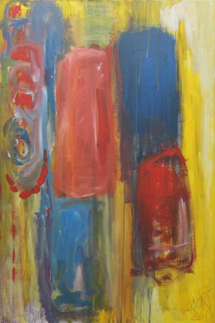 Passion, 2018. Acrylic on canvas, 60x90cm. (AVAILABLE) CARINA SCHUBERT