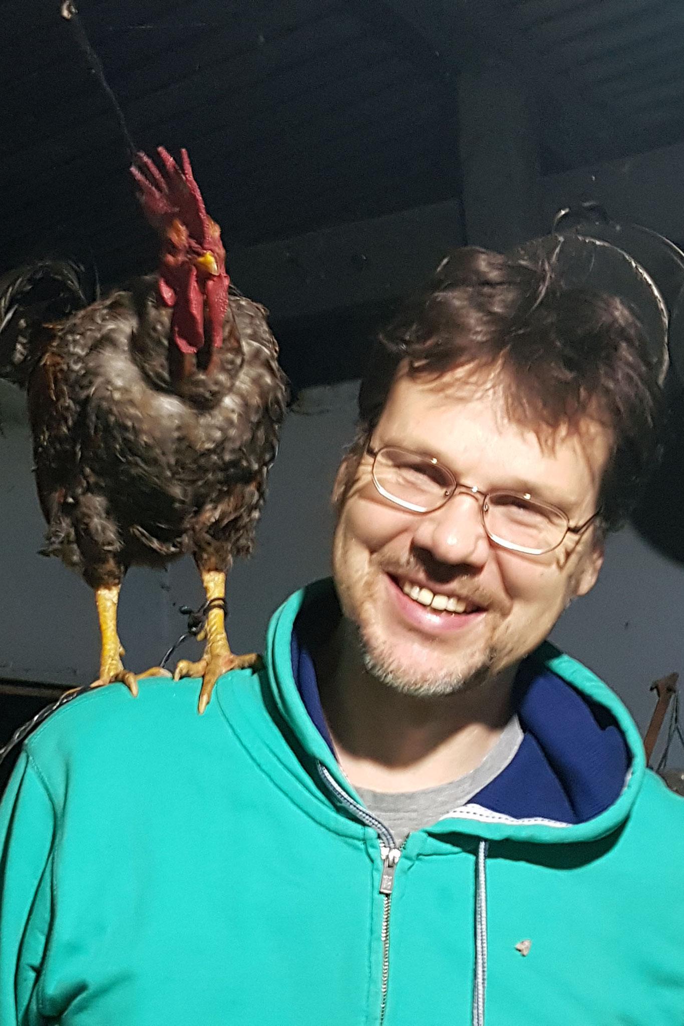 Gerrit und der Hahn