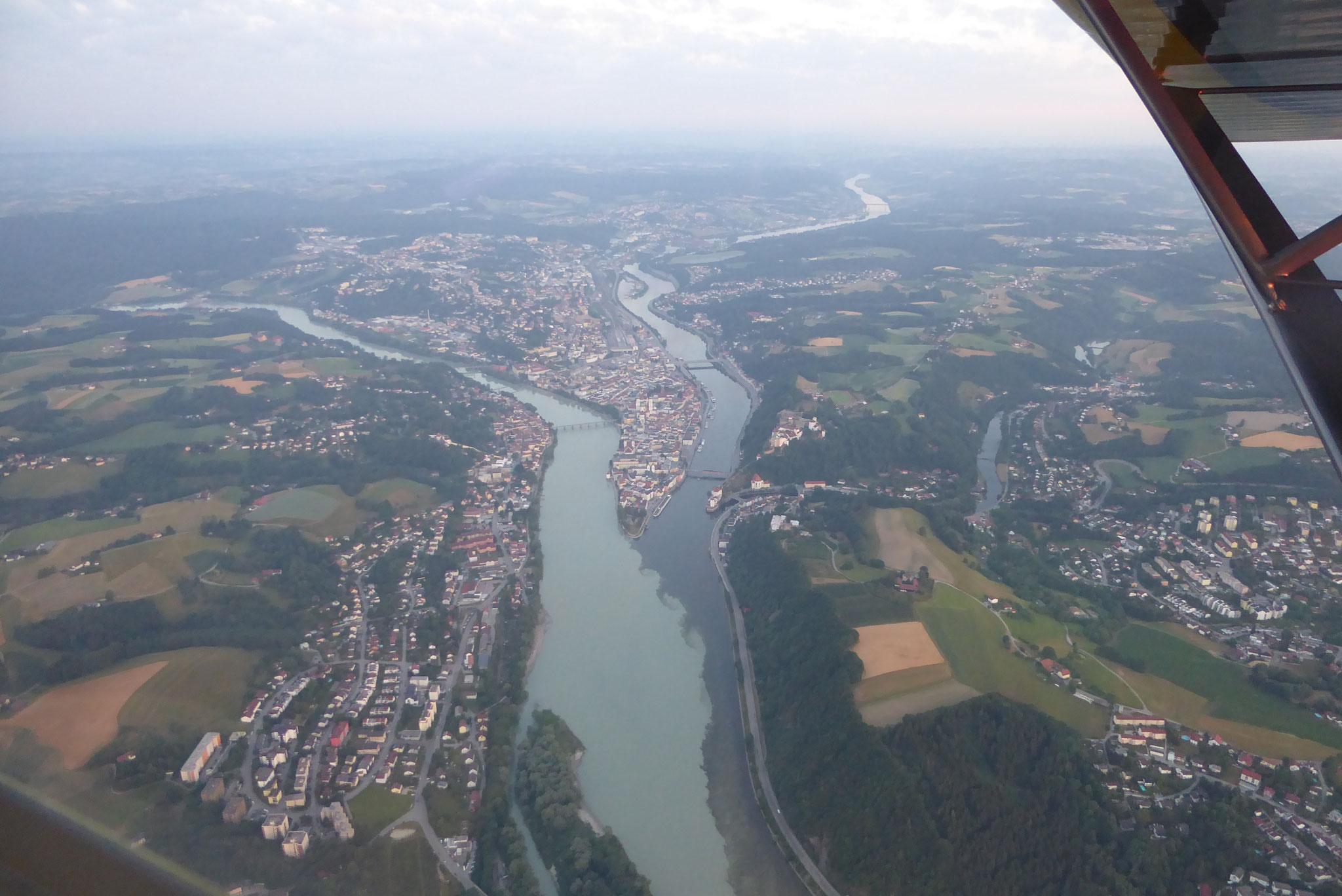 Passau in der Morgendämmerung