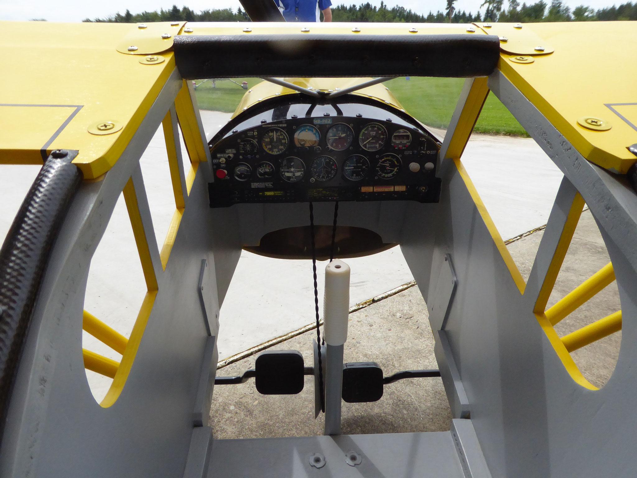 Cockpit Pedal Plane