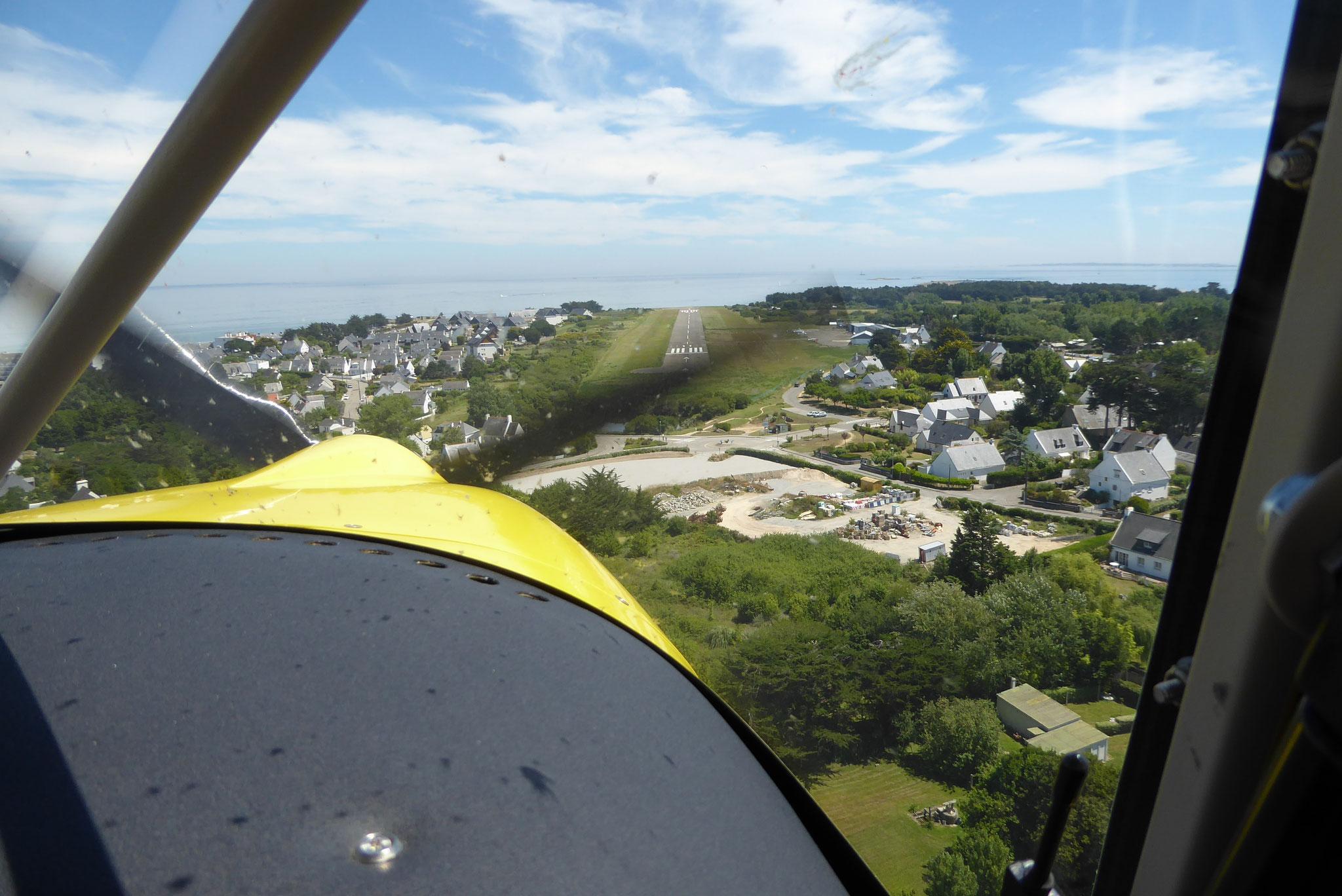 Anflug Quiberon LFEQ