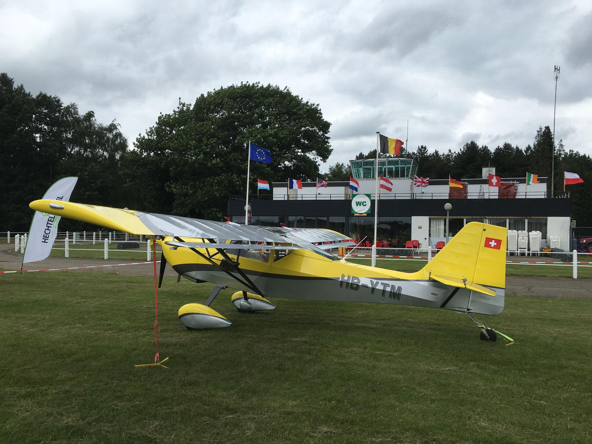 Yellow Fox erhält Pol Position an der Flightline
