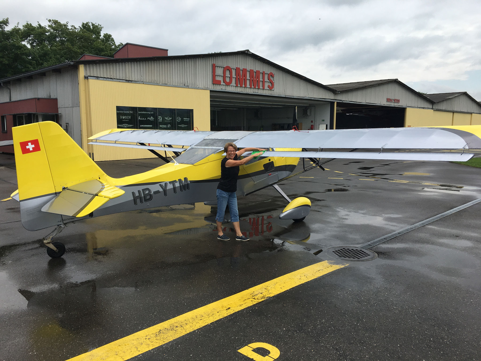 Clean up nach dem langen FlyAway