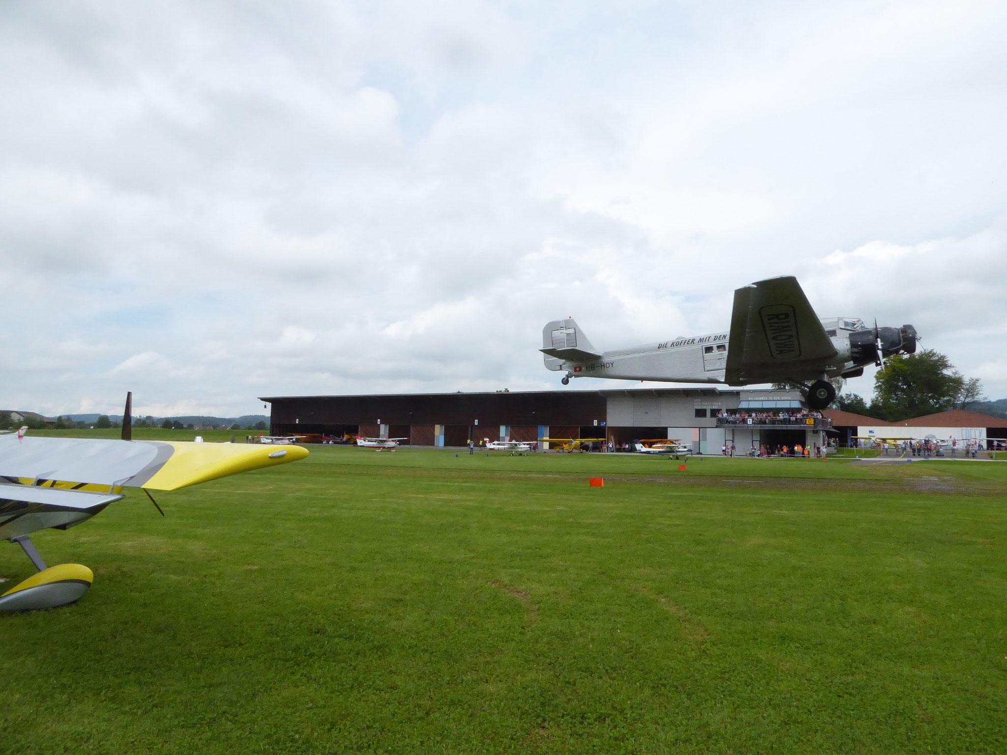 Überflug Ju52