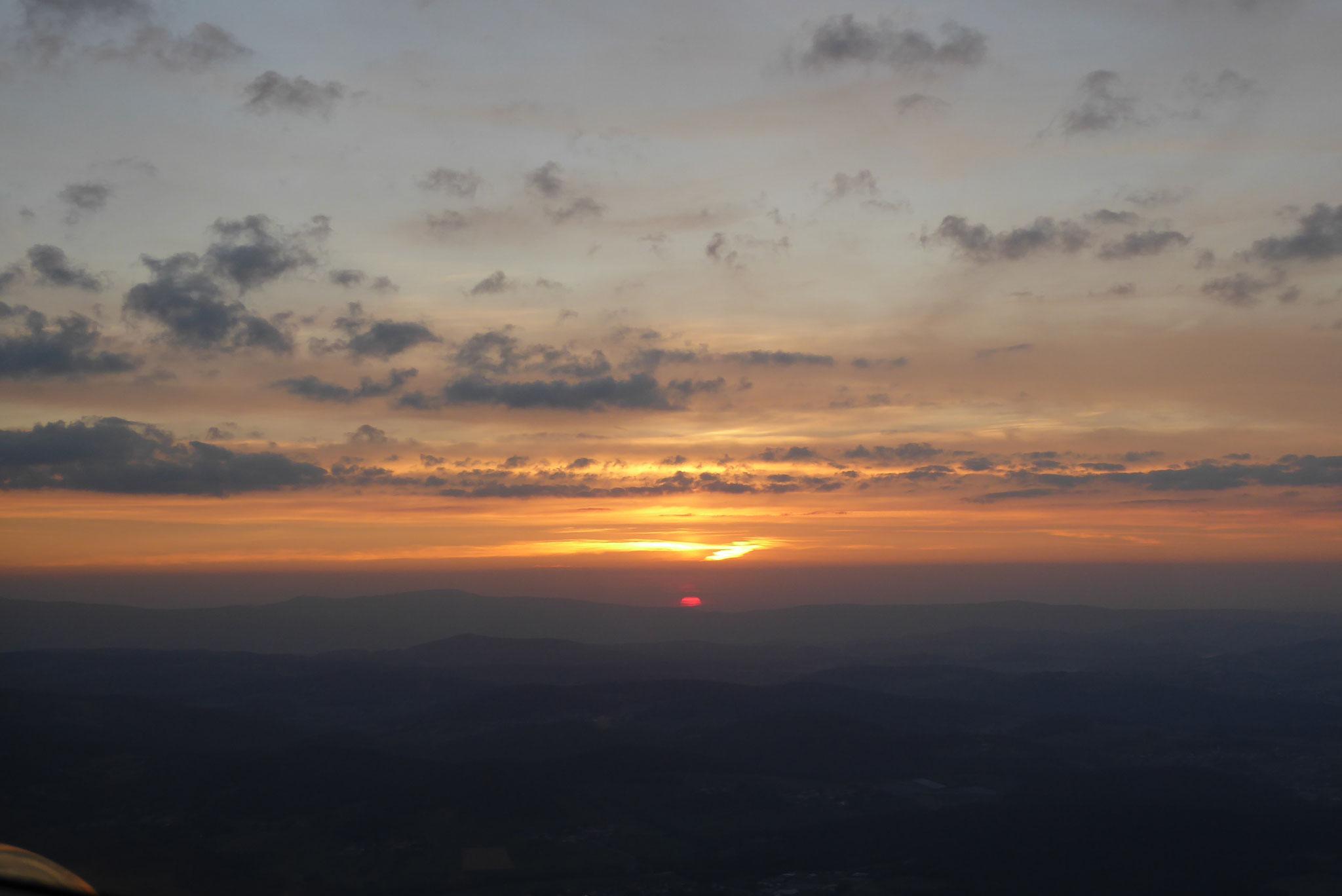 Morgendämmerung im Osten