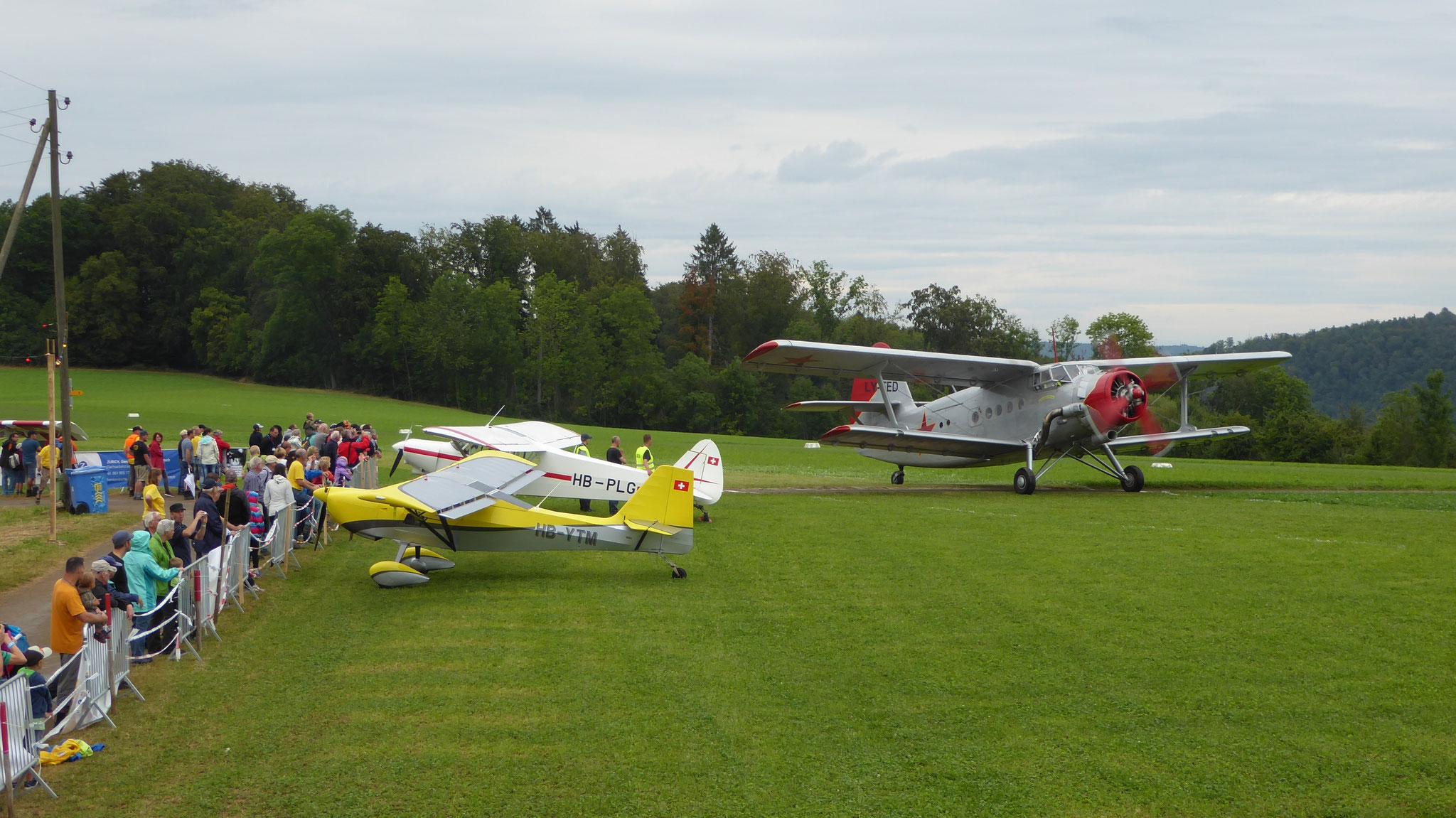 Rundflüge mit Antonov