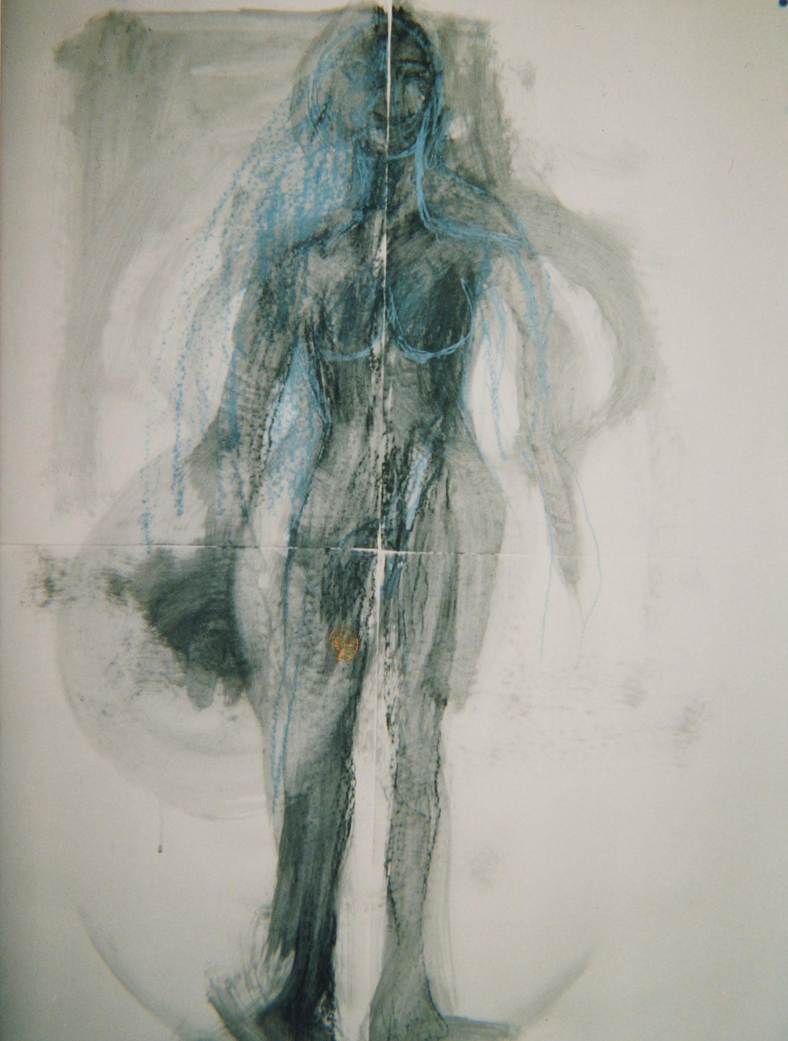Selbstportrait 1993  120X80