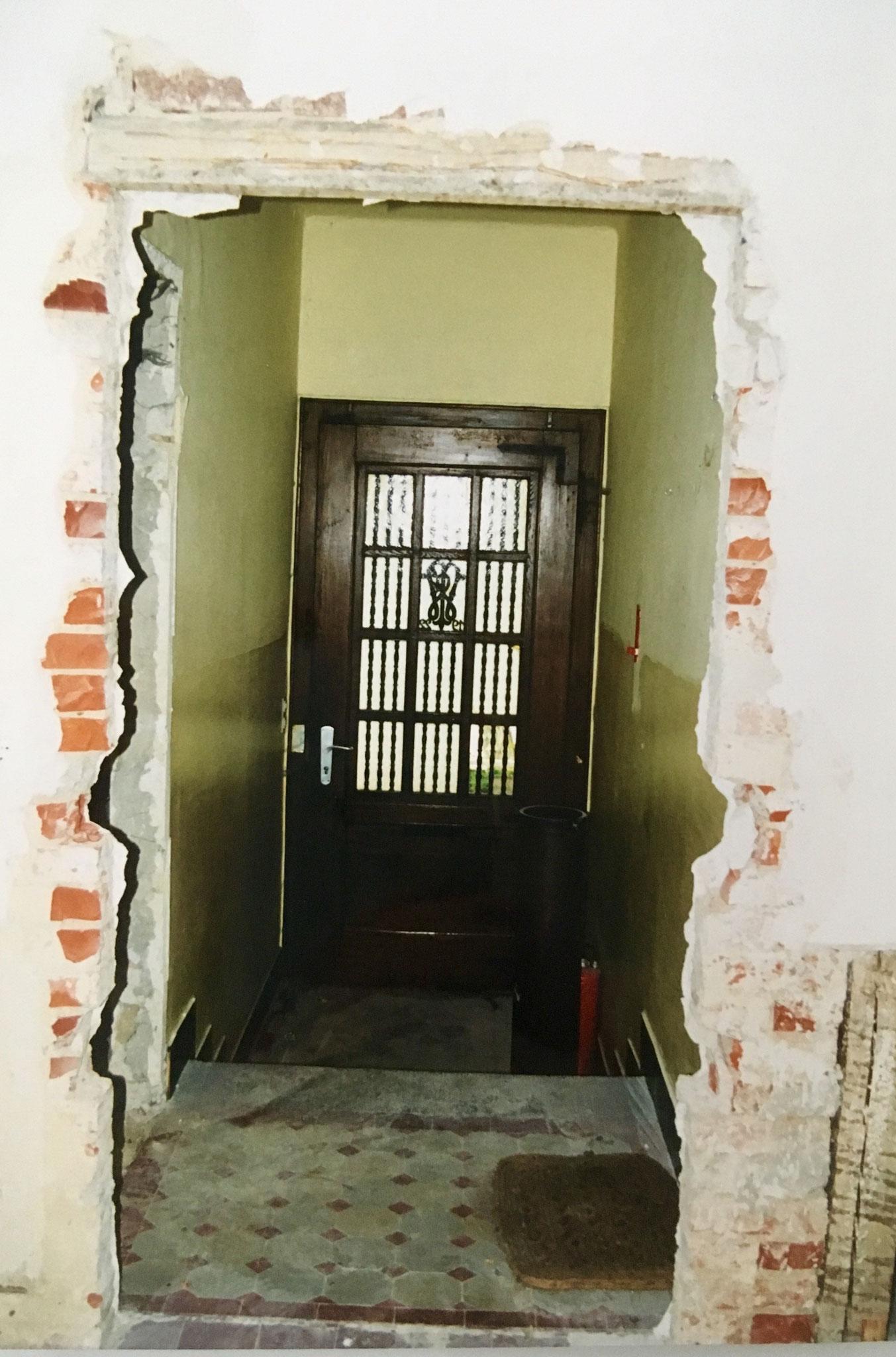 """Kernsanierung """"Villa Becher"""" 1998/99 - Eingangsflur im EG, spätere Tagungsetage"""